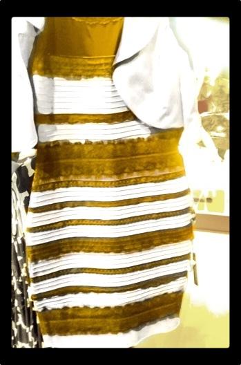 Прикол про цвет платья бело золотое