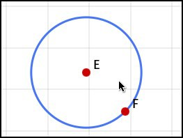 Center and Point Circumference