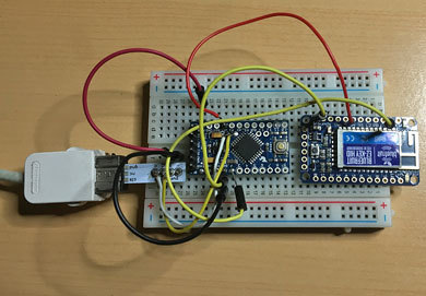 How to: Arduino and Nintendo Nunchuck for pan and