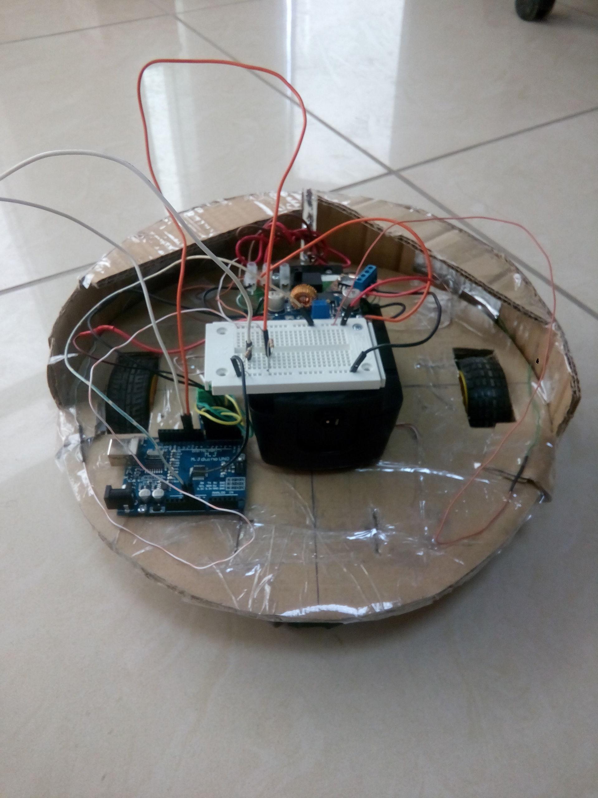 Робот пылесос из ардуино своими руками 507