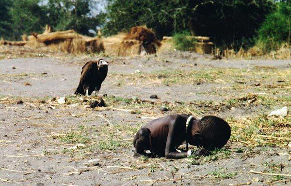 Голод в Судане