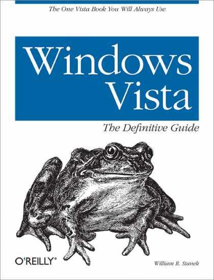 Windows vista the definitive guide