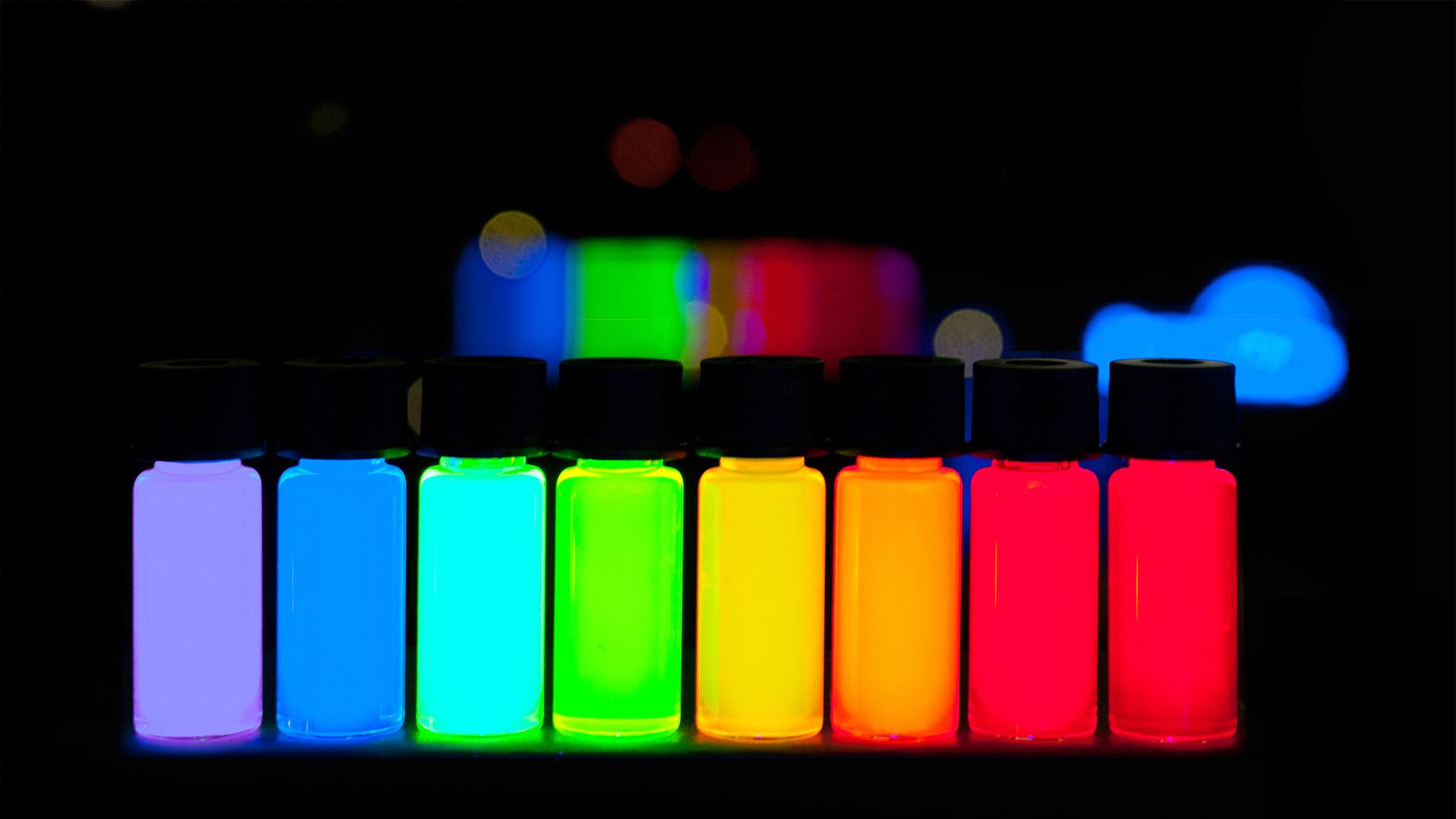 Коллоидный раствор с квантовыми точками
