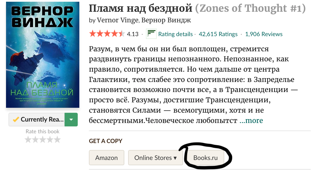 Goodreads с books.ru