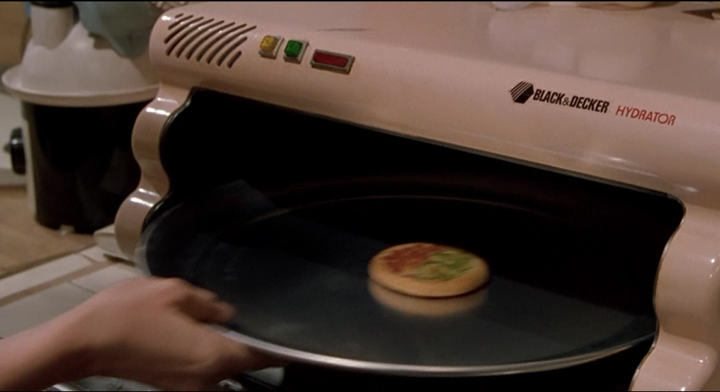 Back to the Future pizza hydrator