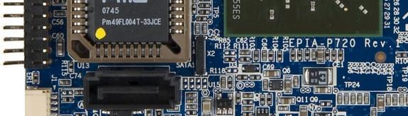 SATA разъём на плате VIA EPIA-P720
