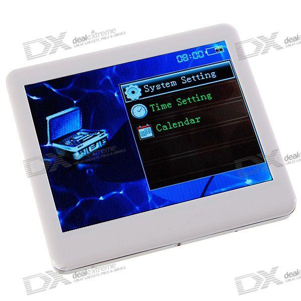 3.5 LCD MP3/MP4/AVI/RM/RMVB Portable Media Player (2GB Internal Memory)