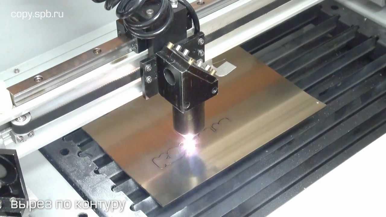 Лазер для резки пластика своими руками