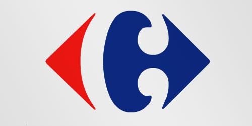 Логотип Carrefour