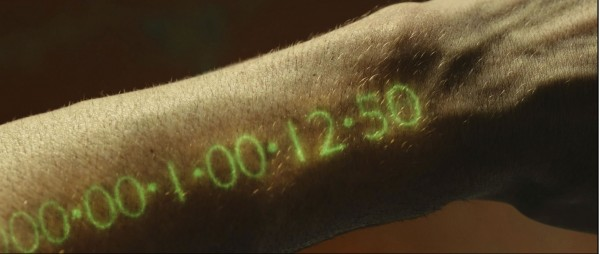 screenshot from the movie in time forearm