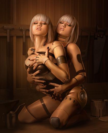 Секс с роботами андроидами