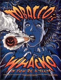 Девушка с сигаретой. Постер. advesti.ru