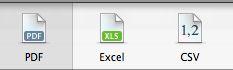 Numbers'08 Export Formats