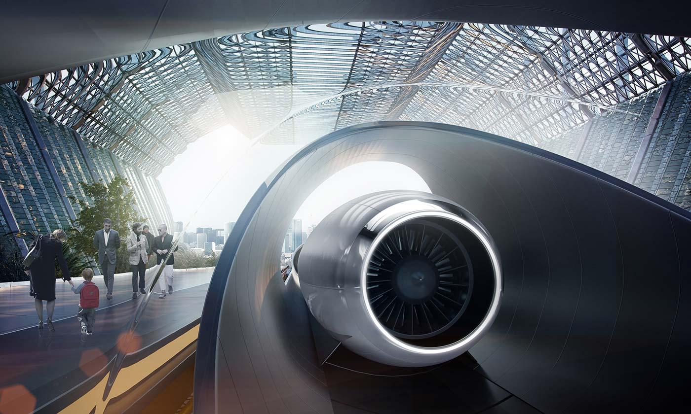 Южная Корея построит у себя первую в мире трассу Hyperloop