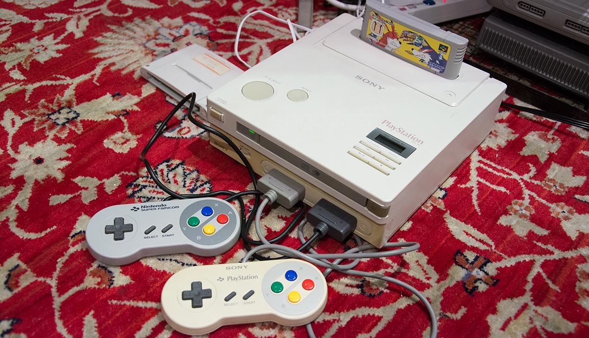 Для так и не появившейся на рынке Nintendo PlayStation выпущена самописная игра
