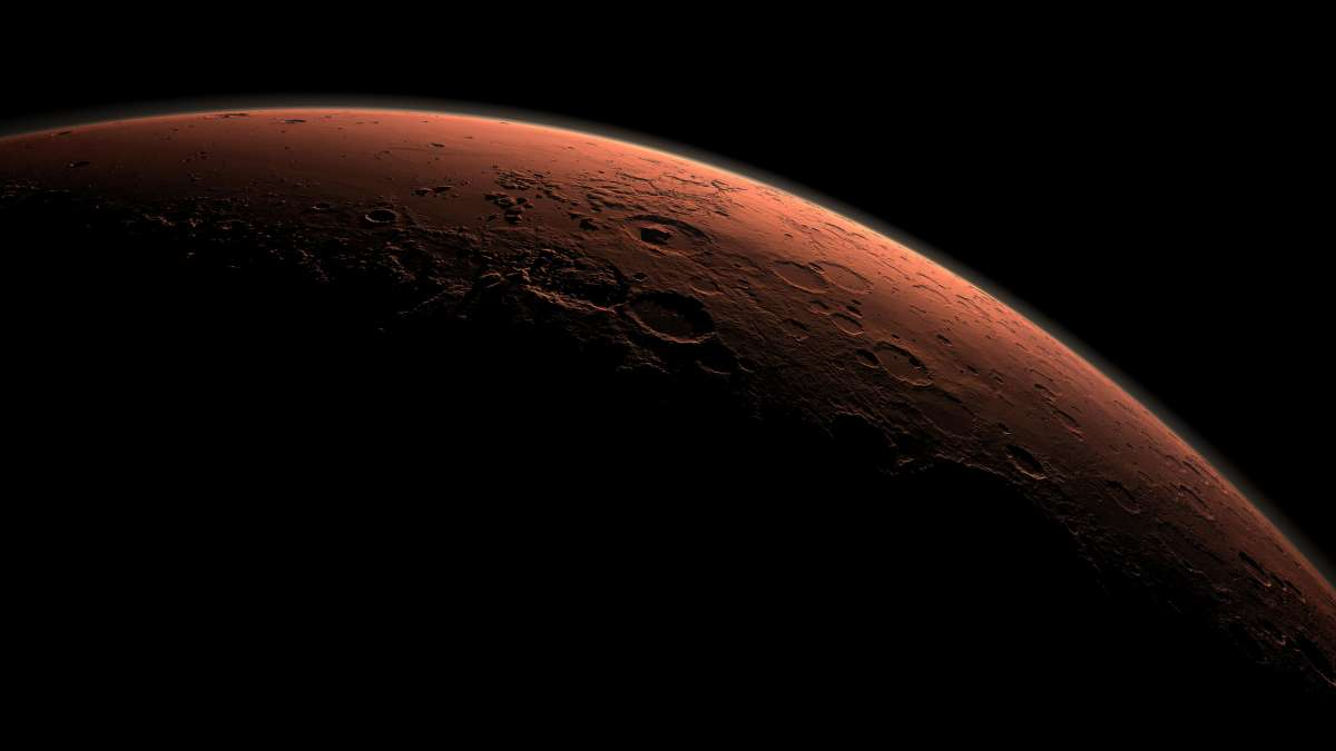 Учёными доказано, что раньше на Марсе было больше воздуха