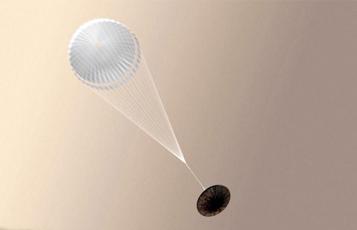 Mars Reconnaissance Orbiter помог найти место падения зонда «Скиапарелли»