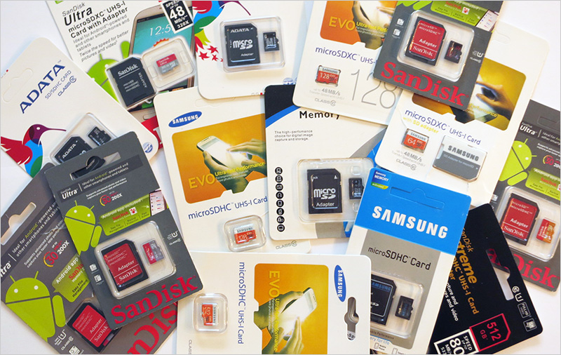 Micro SD подделки