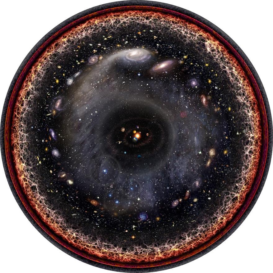 [Перевод] Спросите Итана: может ли Вселенная быть бесконечной?