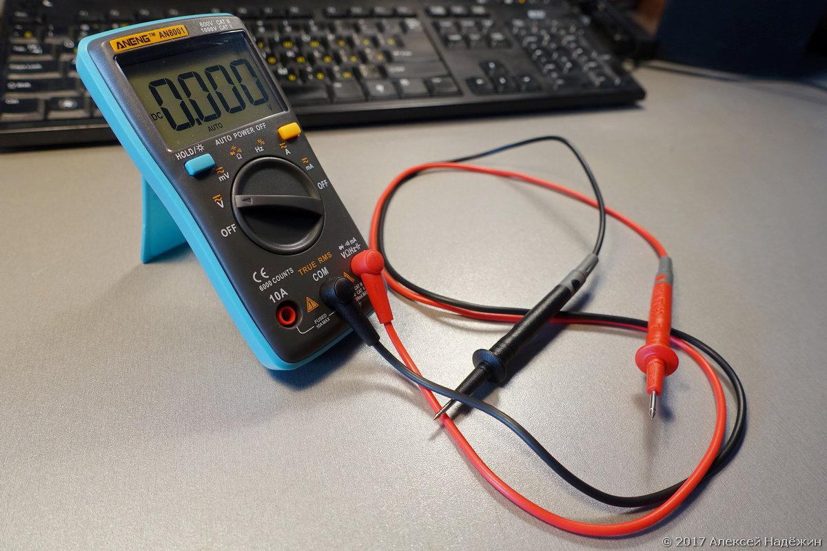 инструкция к мультиметру м810в