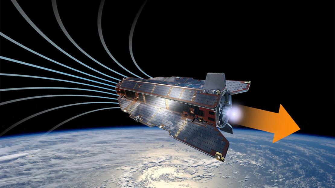 ESA провело испытания ионного двигателя с воздухом в качестве топлива
