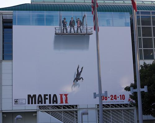Mafia II ads