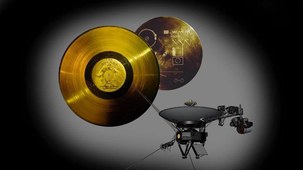 НАСА выпустило копии записей с золотых пластинок «Вояджера»