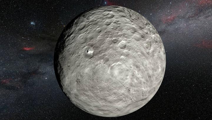 Церера меняется: зонд Dawn зафиксировал изменения поверхности планетоида