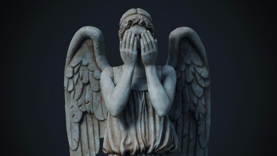 они плачущий ангел картинки из доктора как говорится