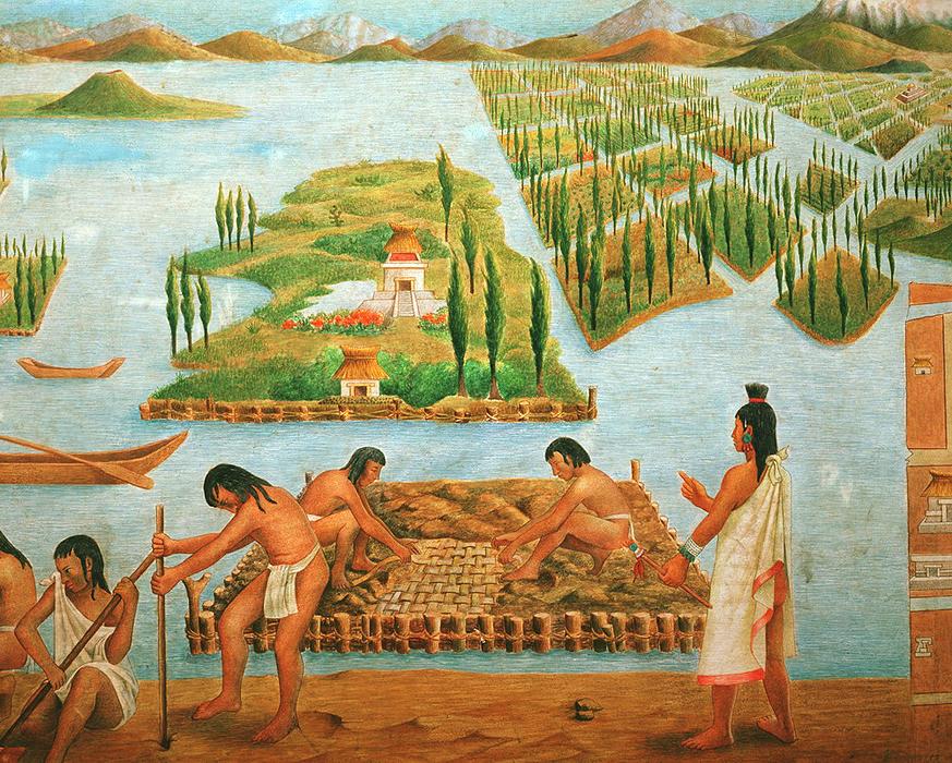 aztec agriculture crops