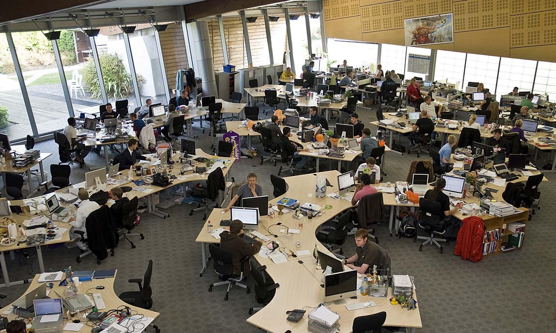Как открытые офисы влияют на работу высокоэффективных сотрудников