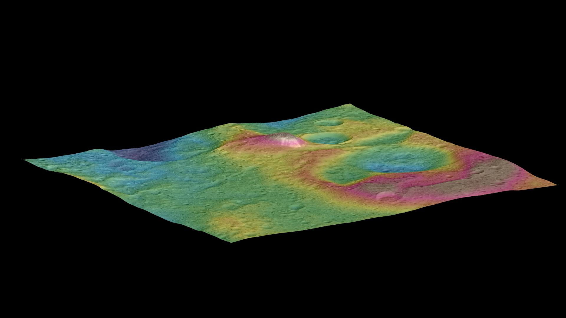 Загадочные вспышки на Церере заметили астрономы