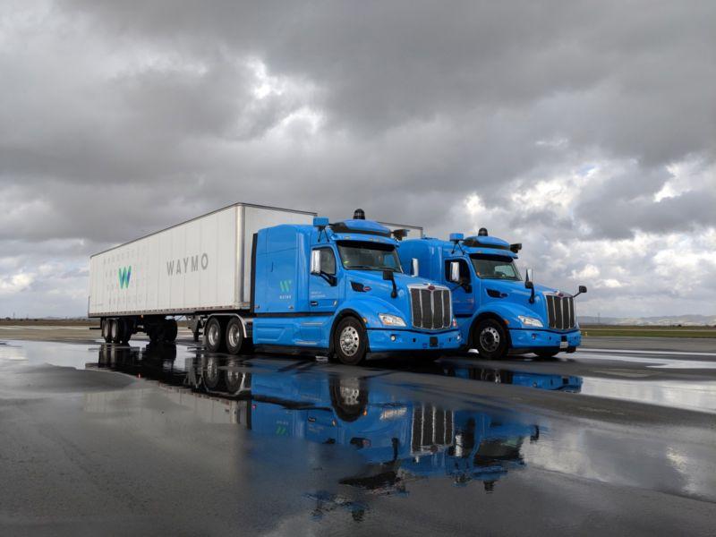 Подразделение Google запускает тестовый сервис грузоперевозок при помощи робогрузовиков