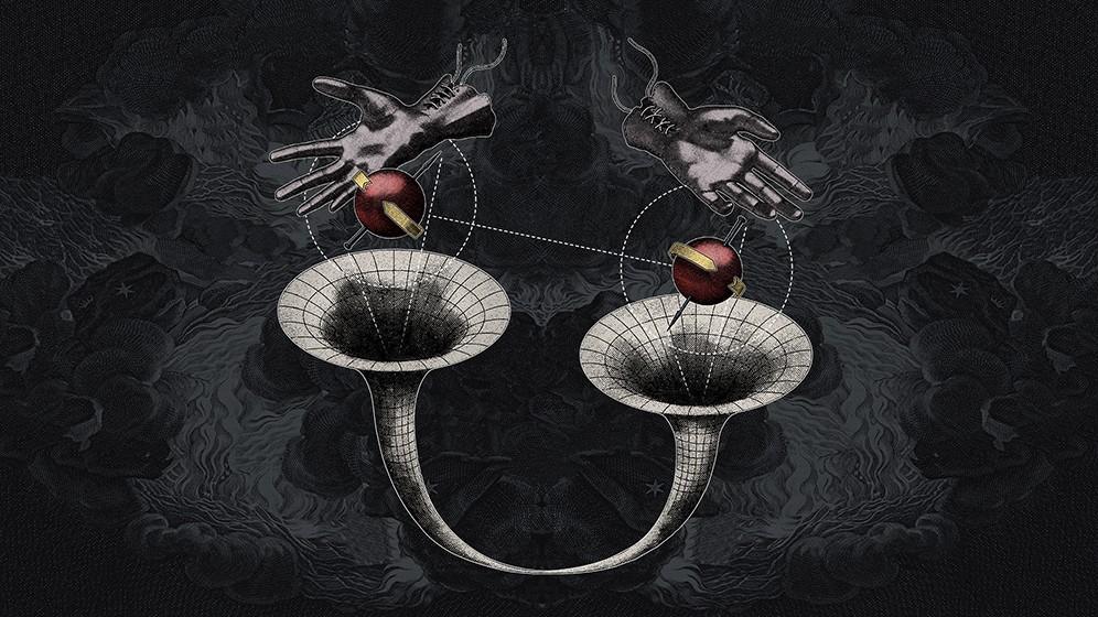 Квантовая ткань пространства-времени: запутанные чёрные дыры
