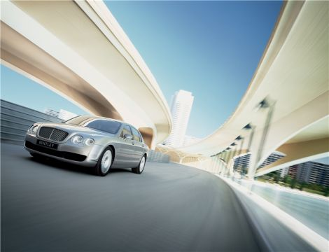 Bentley Continental Flying Spur Ларри Эллисона, главы Oracle