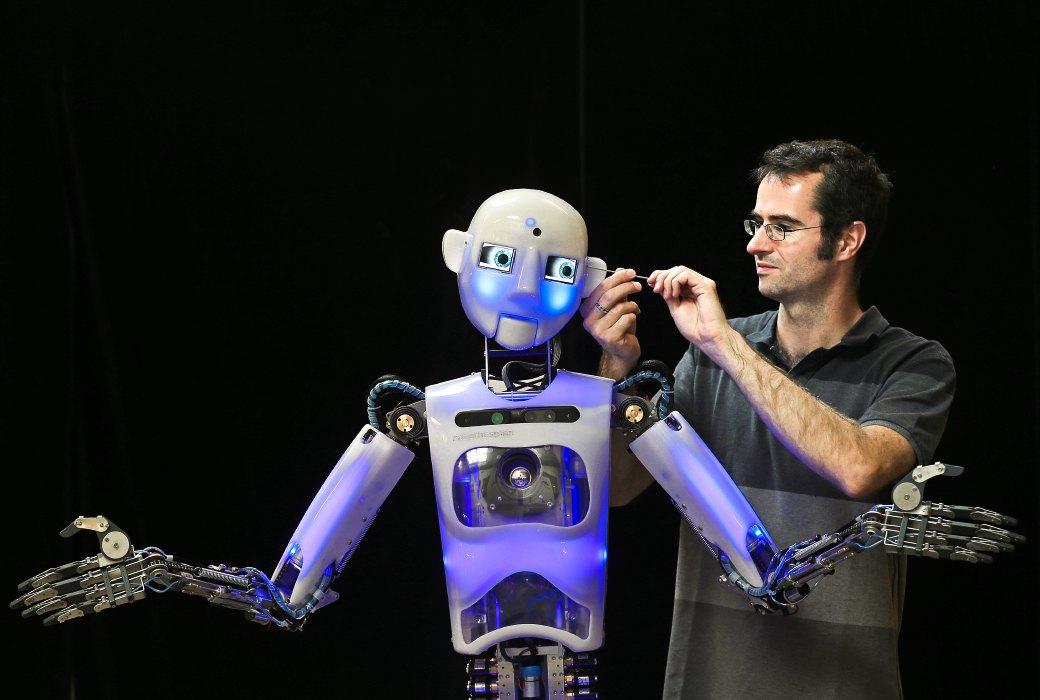 Картинки как делать роботов