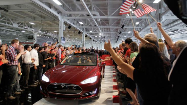 Tesla purchased the vendor of auto parts in staff where sales of the electric vehicles Tesla are prohibited