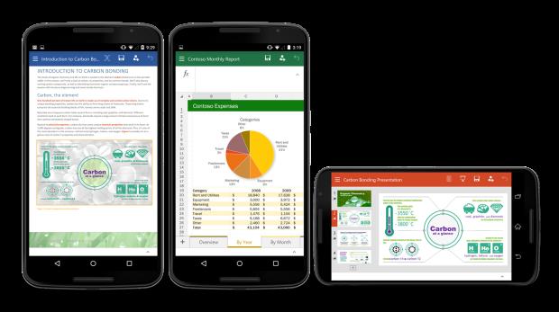 Microsoft официально выпустила Office для Android