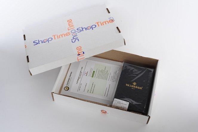 Сертификат надежной покупки в коробке с товаром