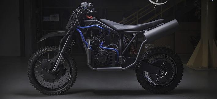 Стелс-мотоциклы для DARPA с гибридными движками, работающие почти на любом топливе