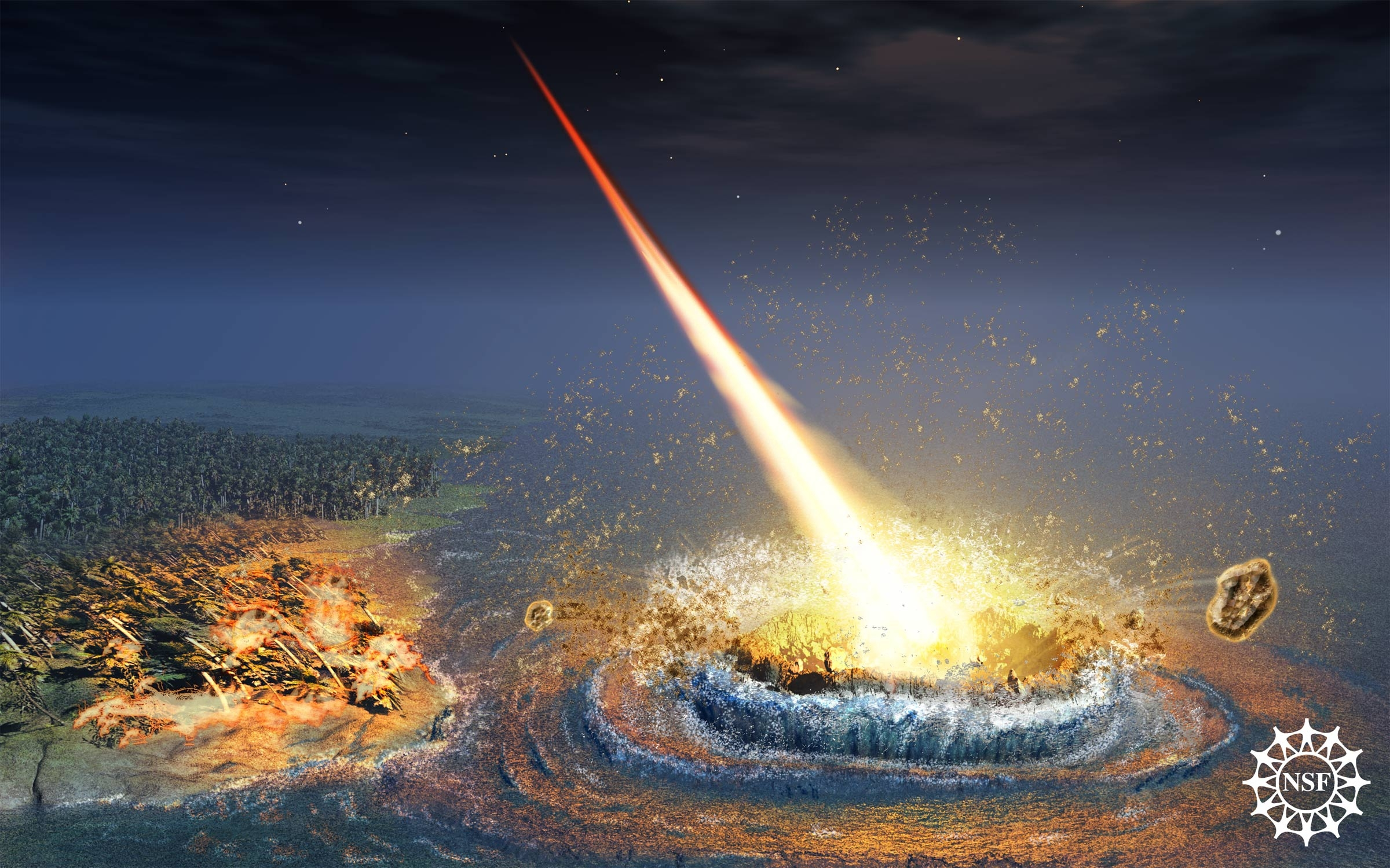 an analysis of the project one asteroid meteor or comet impact on the earth Watch video  a trajectory that will impact earthin fact, not a single one of the known objects has no asteroid or comet currently meteor came from.