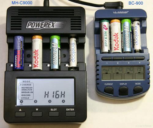 Зарядное устройство для Ni-Mh