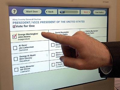 Selection screen