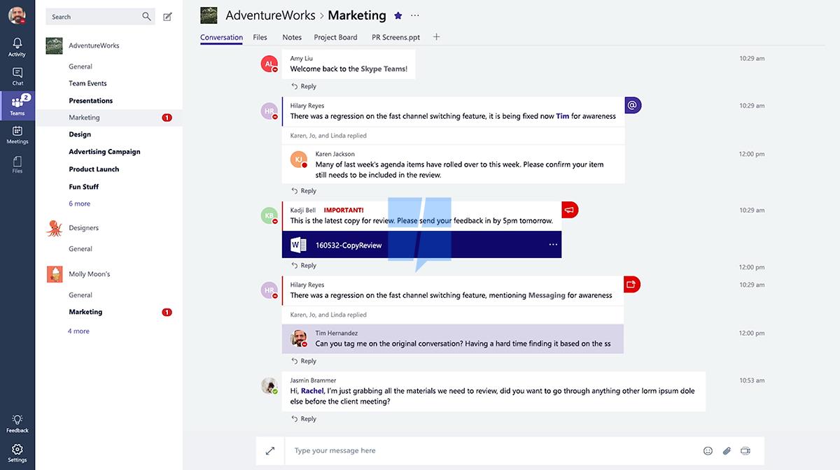 Microsoft разрабатывает конкурента Slack