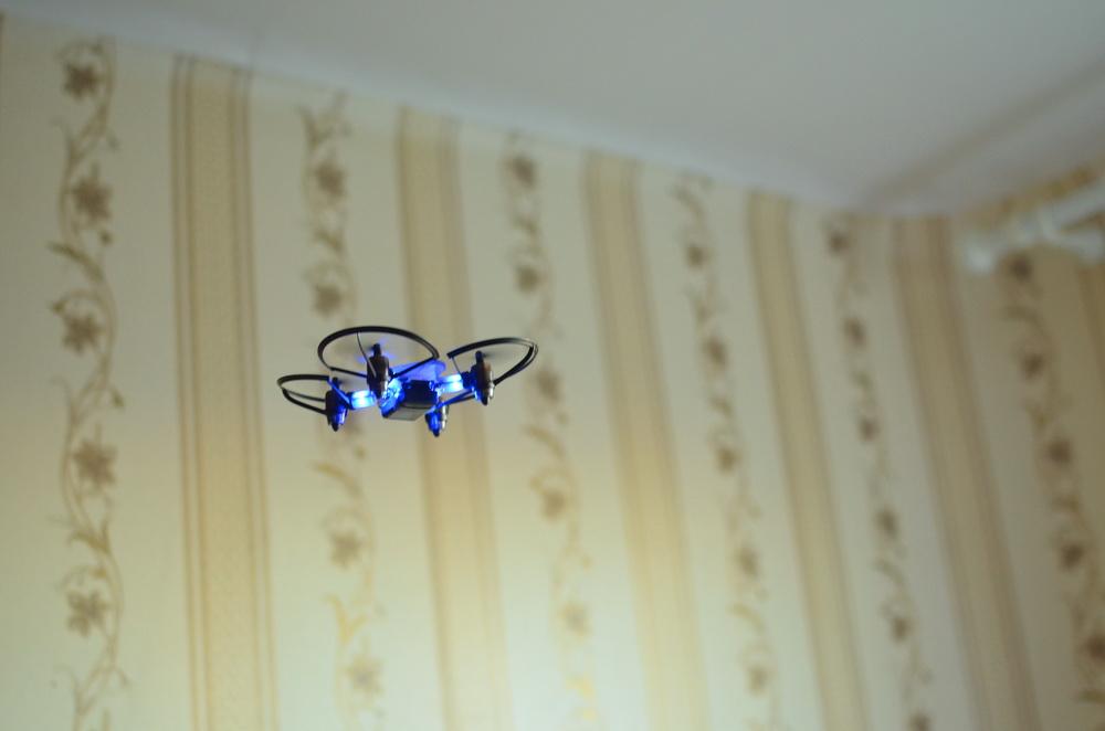 Южнокорейская революция на рынке мини-дронов. Обзор первого в мире боевого дрона — квадрокоптера Byrobot Drone Fighter
