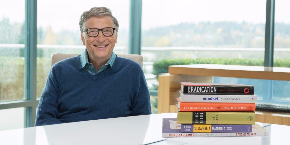 6 книг, которые Билл Гейтс прочитал в 2015 году и рекомендует их всем