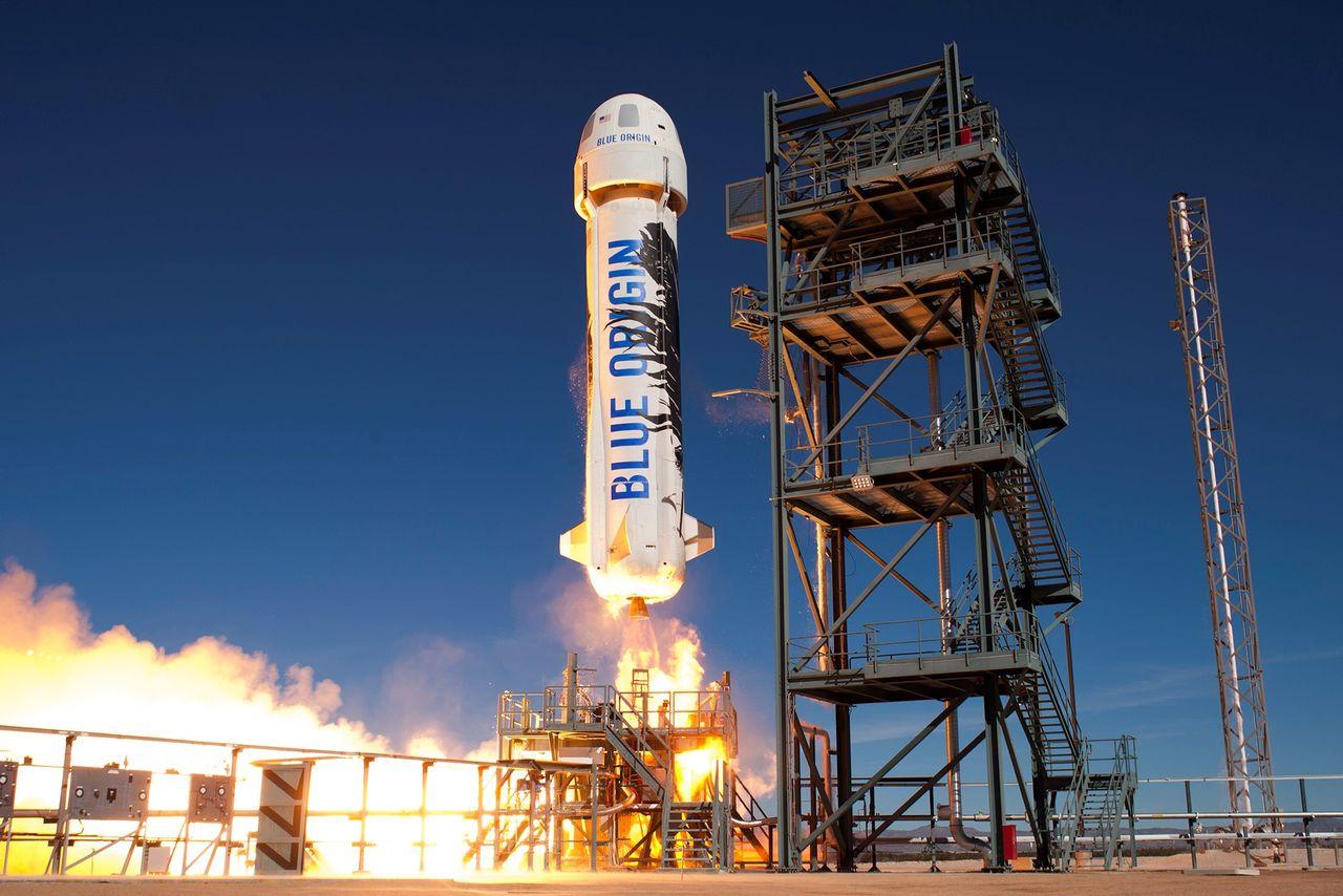Blue Origin устроит аварию для своего космического корабля New Shepard во время следующего запуска