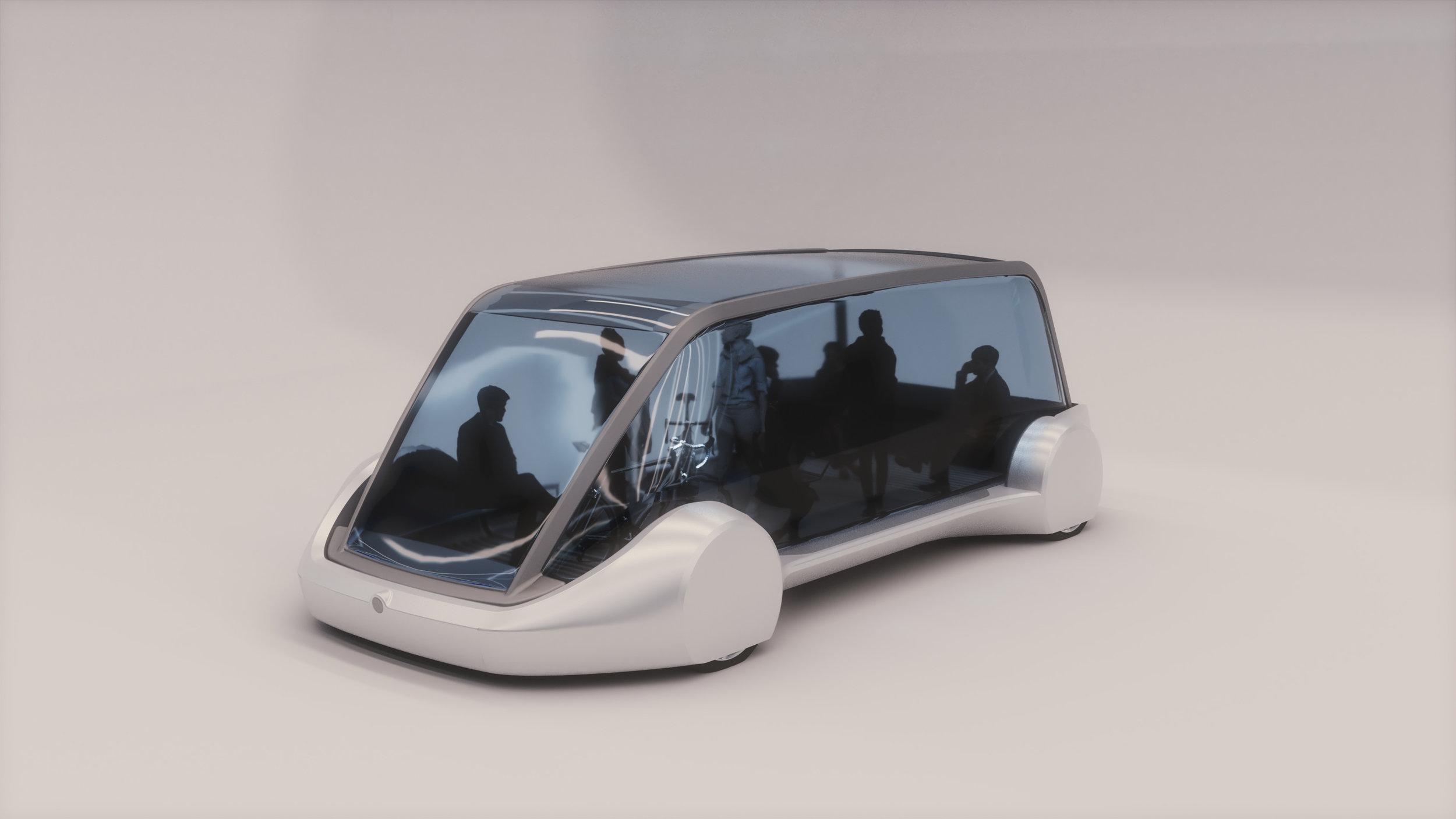 Из Чикаго в аэропорт на автономных тележках под землёй: проект Loop от Илона Маска