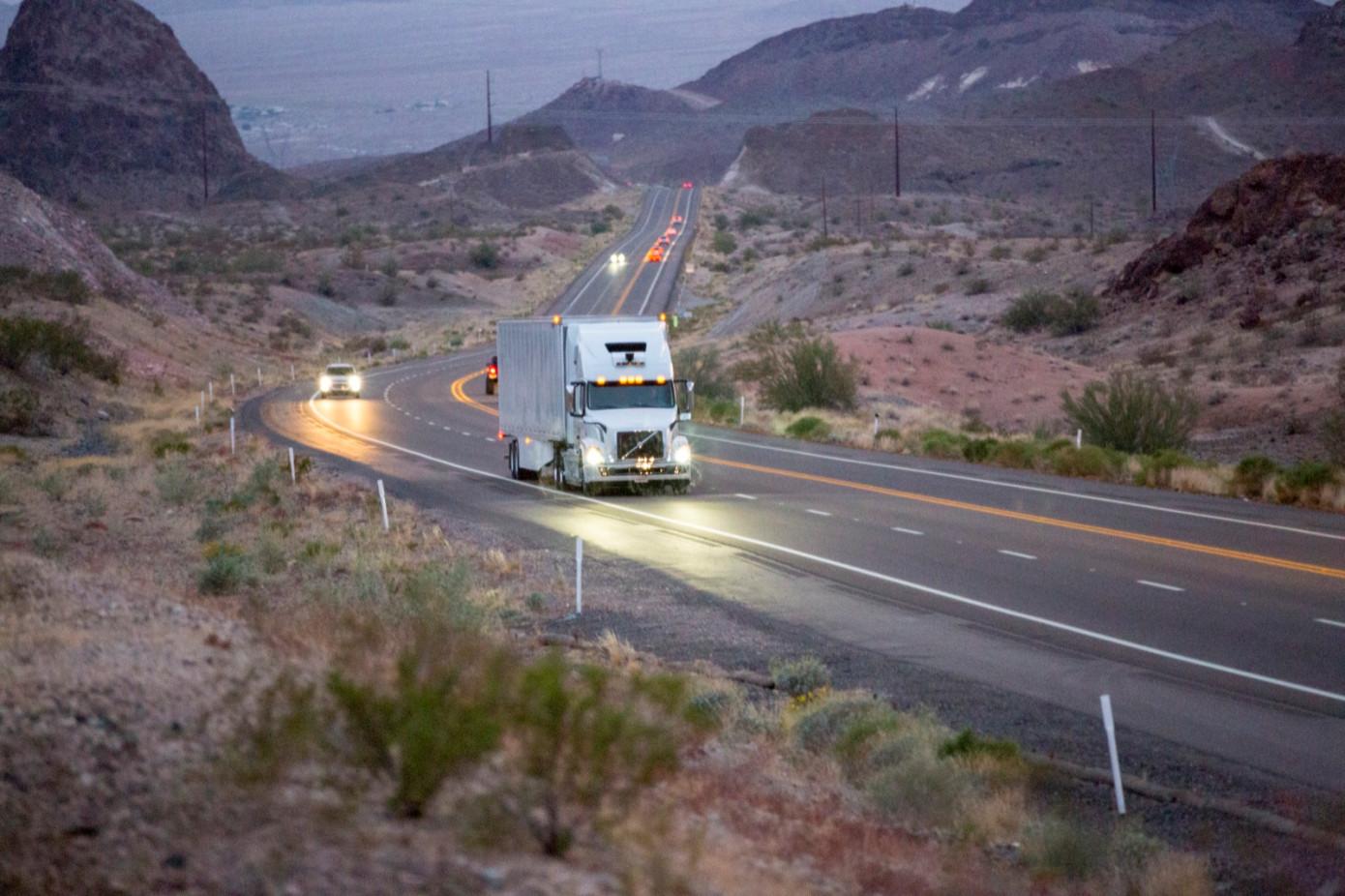 Uber запустил коммерческий сервис беспилотных грузовиков