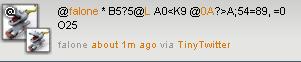 TinyTwitter Java